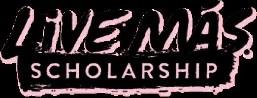 Live Más Scholarship Logo