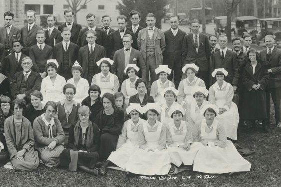 Pacific Christian Hospital Staff 1908-1929